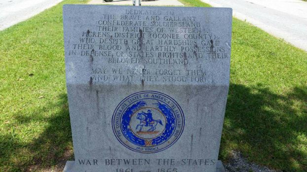 War Between the States Memorial Marker (1) by OddGarfield