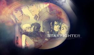 Starfighter wallpaper by Paint-tin