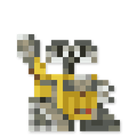 Day #209 - WALL-E by JINNdev
