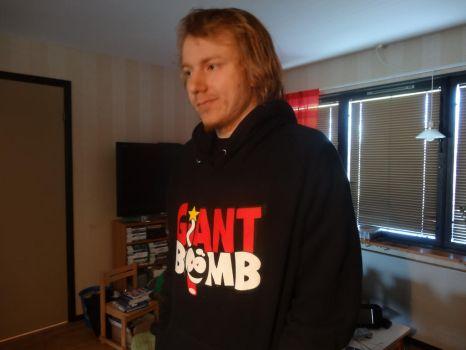 Giant Bomb hoody by ToxicAntidote
