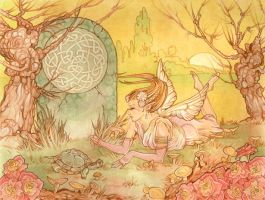 The Fairy and Turtle - Neomeno by FaeryCircle