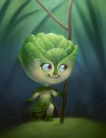 Belle sprout by Murfish