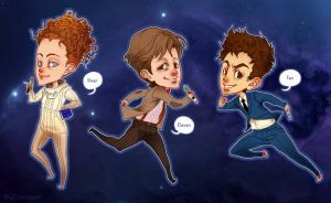 DoctorWhoStickers by ShyCustis