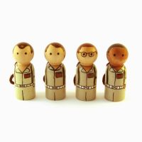Ghostbusters peg people by jen-random