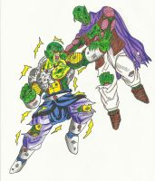 Helix vs Gast (Damaged) by DBZ2010