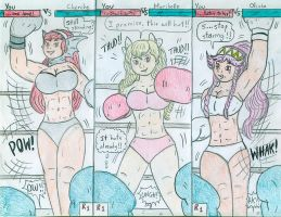 Boxing You vs Fire Emblem Girls by Jose-Ramiro