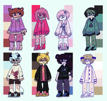 color palette adopts III filled by batman-kun