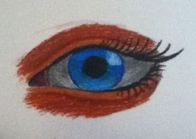 Eye Oil Pastel Test by starwolf260