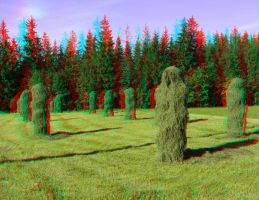 The Harvest 3D Anaglyph by yellowishhaze