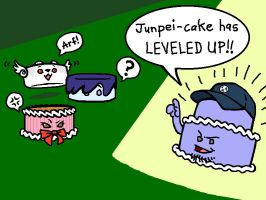 Junpei-cake is Multilayered by WafflesMcCoy