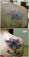 lily cover up by karlinoboy