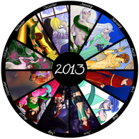 Obligatory Year-End Summary - 2013 by Ankh-Ascendant