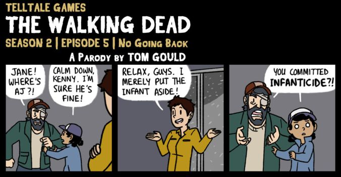 TWD S2E5 | Miss Conveyance (SPOILERS) by TheGouldenWay