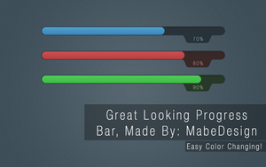 Progress Bar - MabeDesign by MabeDesign