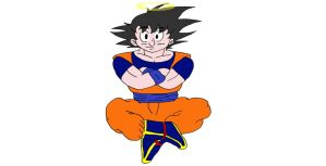Goku by CPLJohnner