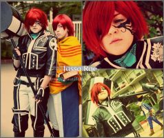 D Gray Man - Lavi 2nd Uniform Cosplay by ShinrasFlurry