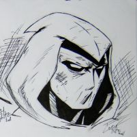 Another Moon Knight Inked by dareith
