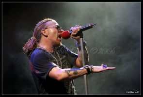 Axl Rose I by curan
