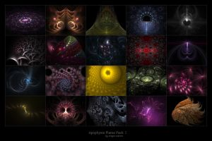 apophysis flame pack 2 - 3D by saturnstock