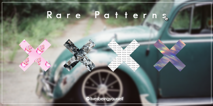 Rare Patterns by LivesBeingYourself