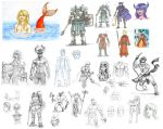 2013 Sketchdump 4 by ISolitude
