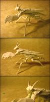 Origami Mantis Boxer by Lexar-