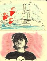 ponyo and frank infante by vintageisclassic