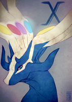 xerneas by SUPARIO