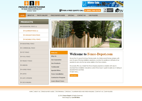 Fence Depot by mcarts