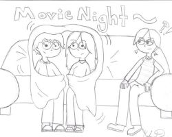 Movie Night by KendrawD