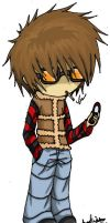 Matt form Death Note by Xeinzeru