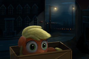 A pony in a box by anttosik