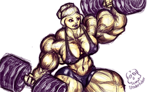 Abigail weights by CliveUndertaker
