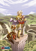 BattleCON - Atop the Pillar by FontesMakua