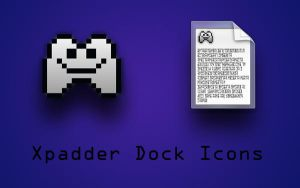 Xpadder Dock Icons by trebory6