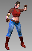 Julia Chang - Tekken 3 by Changinformatica