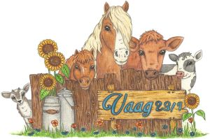 Yet another farm logo by WhimsicalWitch