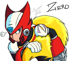 Zero's Hair by Chaotic--Edge
