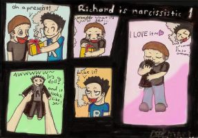 Richard is narcissistic 1 by Dizi-ramm-archive