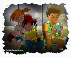 Ash and Misty, a Christmas Miracle. Prologe by thebandmaster
