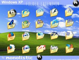 Windows XP Folder Expansion by monolistic