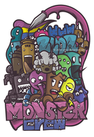 monstercrew by zldz