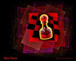 Red Pawn by PeterPawn