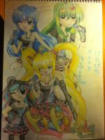 Mermaid Melody Pure: Doki Doki Melody Completare by vivian274
