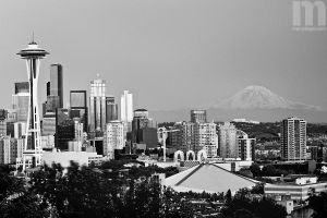 kerry park bw by stranj