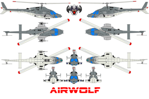 AIRWOLF NAVY by bagera3005