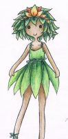 Leaf Princess? Wood Princess? - AT OC by AnnRosalyn