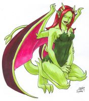 101909 Poison Ivy Garg by GillyPerkyGoth