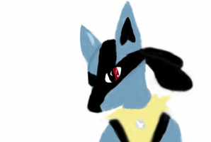 Lucario by TheLovelyBat