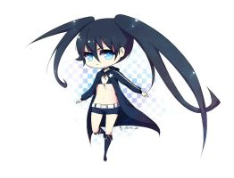black rock shooter by MiraMaryevna